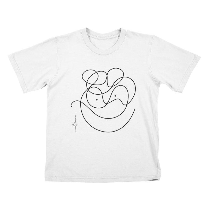 OneLine Smile Kids T-Shirt by Good Morning Smile