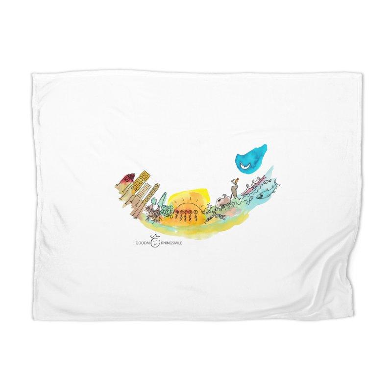Urban Ecology Smile Home Blanket by Good Morning Smile