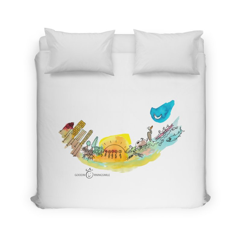 Urban Ecology Smile Home Duvet by Good Morning Smile