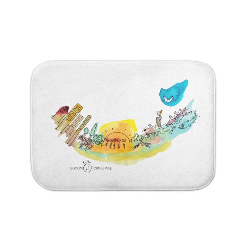 Urban Ecology Smile Home Bath Mat by Good Morning Smile