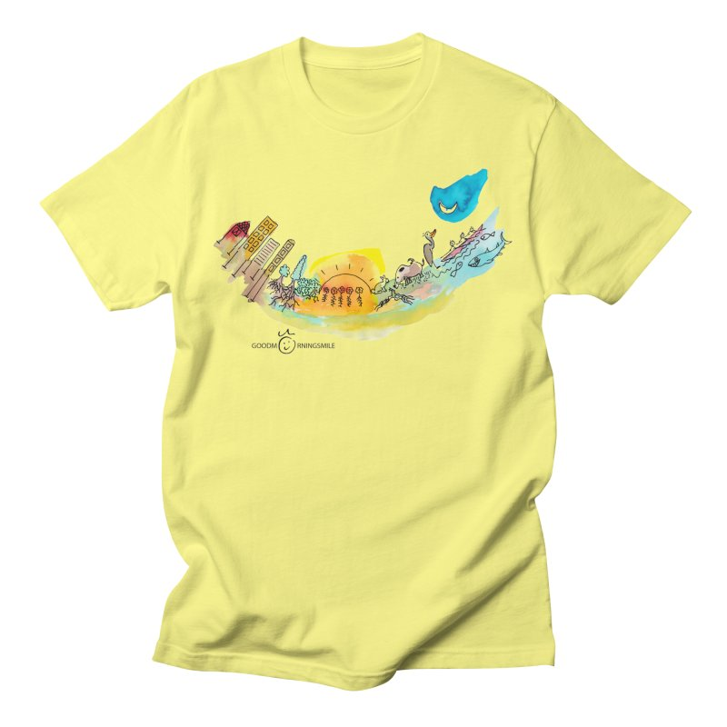 Urban Ecology Smile Men's T-Shirt by Good Morning Smile
