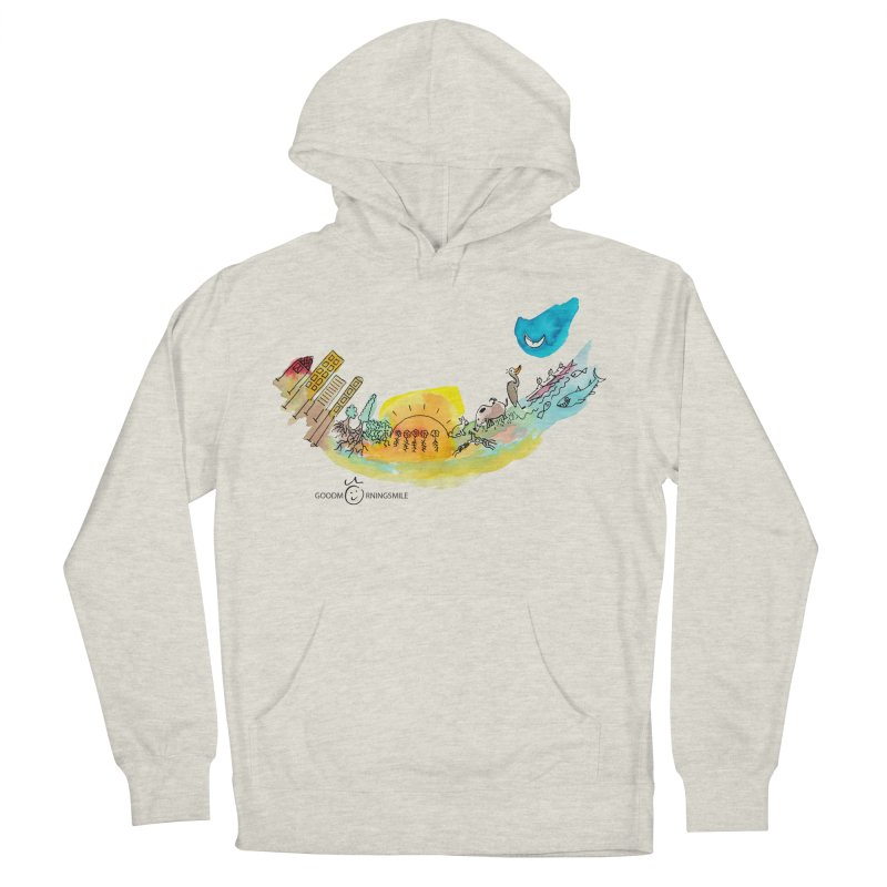 Urban Ecology Smile Women's Pullover Hoody by Good Morning Smile