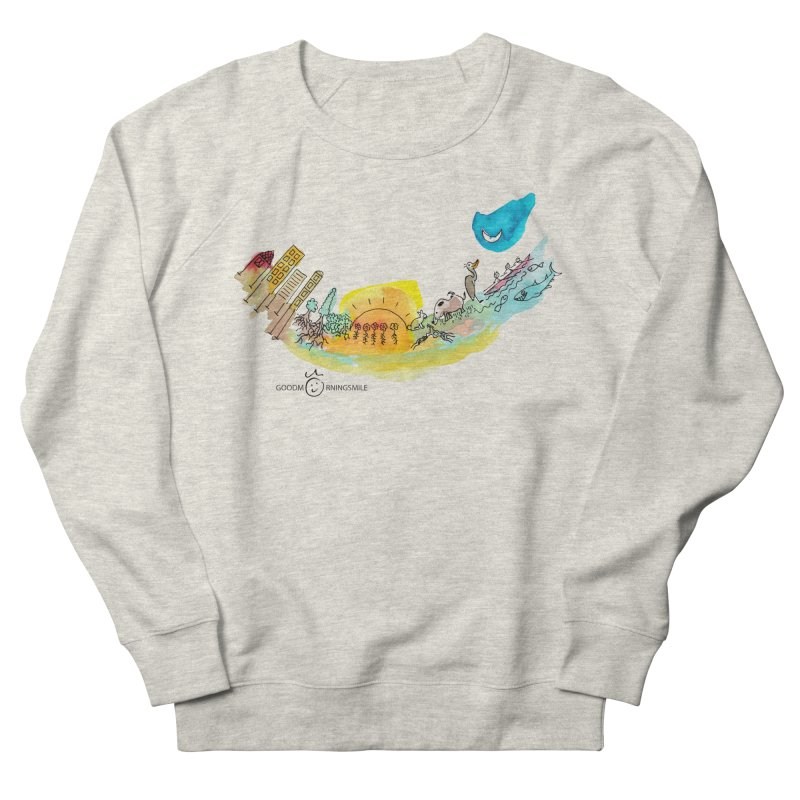 Urban Ecology Smile Women's Sweatshirt by Good Morning Smile