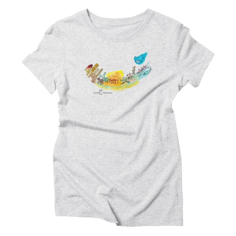 Urban Ecology Smile Women's T-Shirt by Good Morning Smile