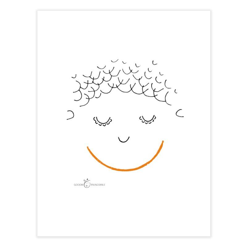 Smiling Smile Home Fine Art Print by Good Morning Smile