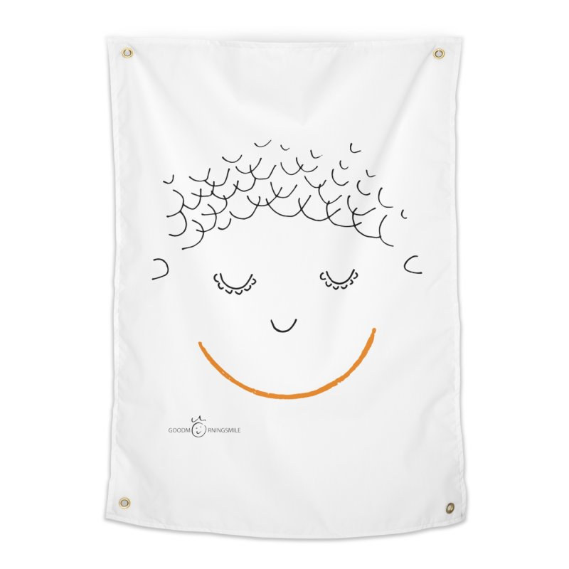 Smiling Smile Home Tapestry by Good Morning Smile