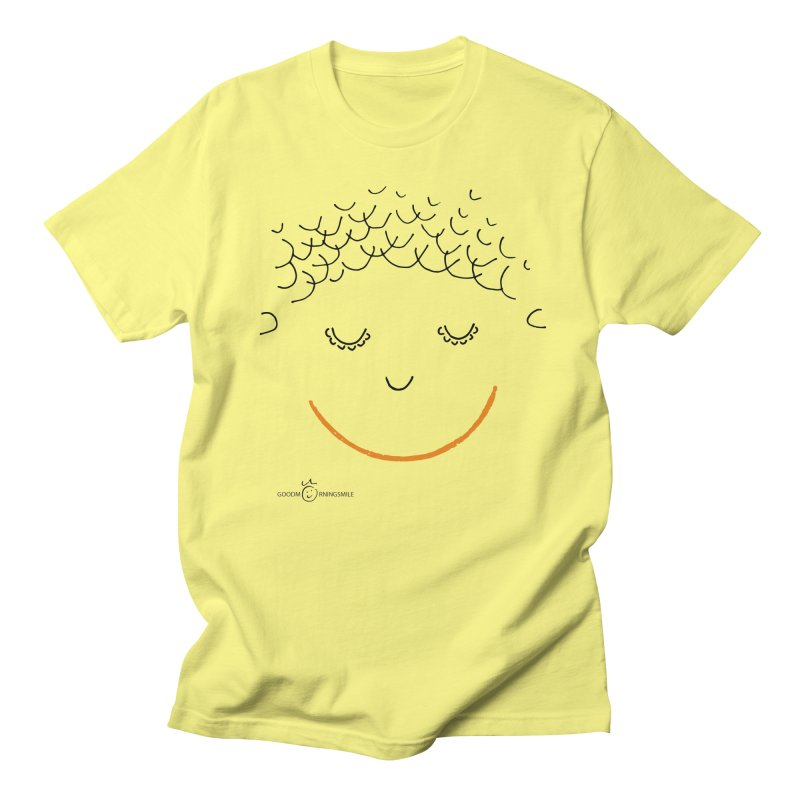 Smiling Smile Men's T-Shirt by Good Morning Smile