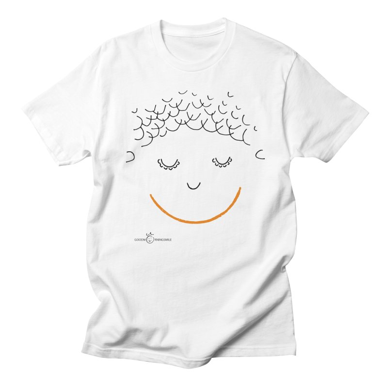 Smiling Smile Women's Regular Unisex T-Shirt by Good Morning Smile
