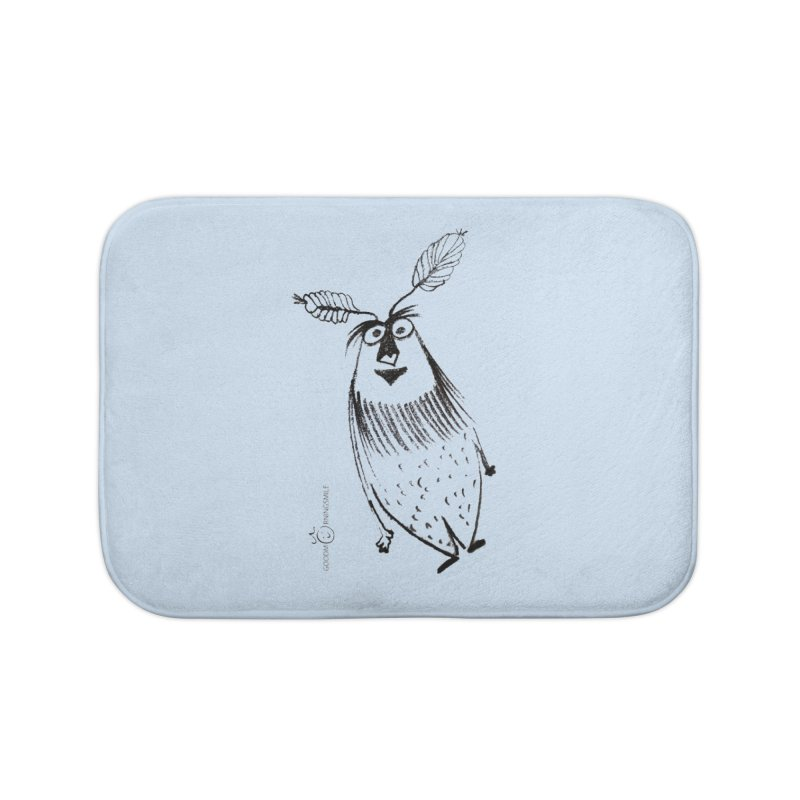 Flying FeatherMan Home Bath Mat by Good Morning Smile