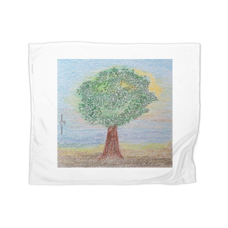 Tree Smile Home Blanket by Good Morning Smile