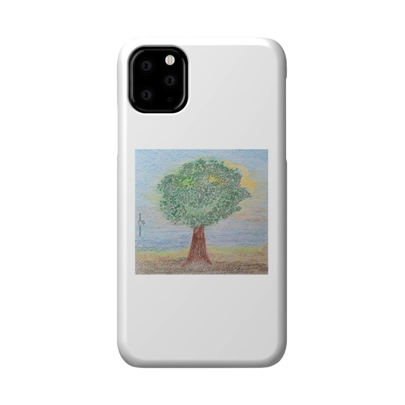 Tree Smile Accessories Phone Case by Good Morning Smile