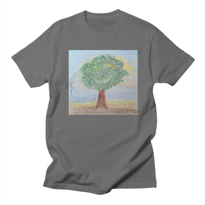 Tree Smile Men's T-Shirt by Good Morning Smile