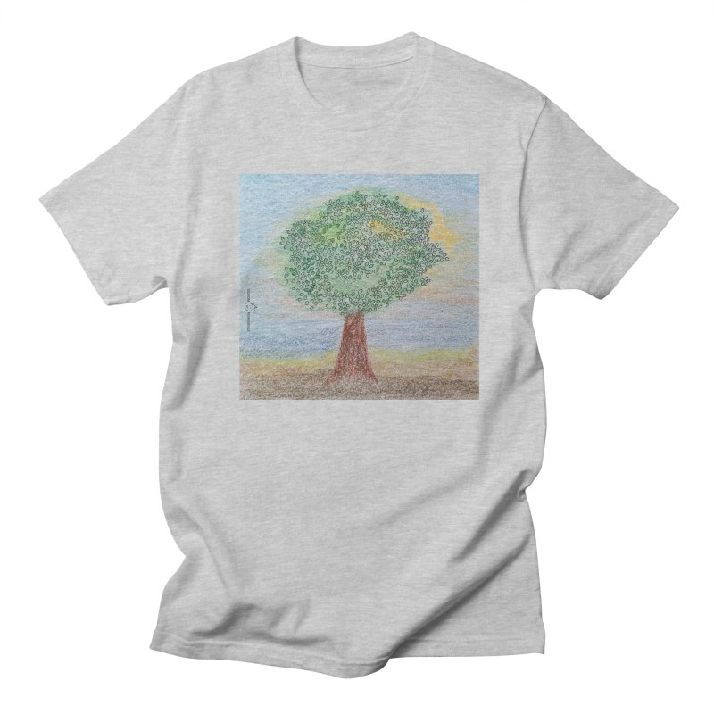 Tree Smile Women's Regular Unisex T-Shirt by Good Morning Smile
