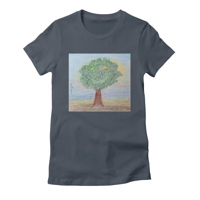 Tree Smile Women's T-Shirt by Good Morning Smile