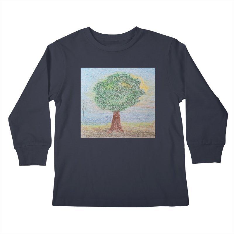 Tree Smile Kids Longsleeve T-Shirt by Good Morning Smile