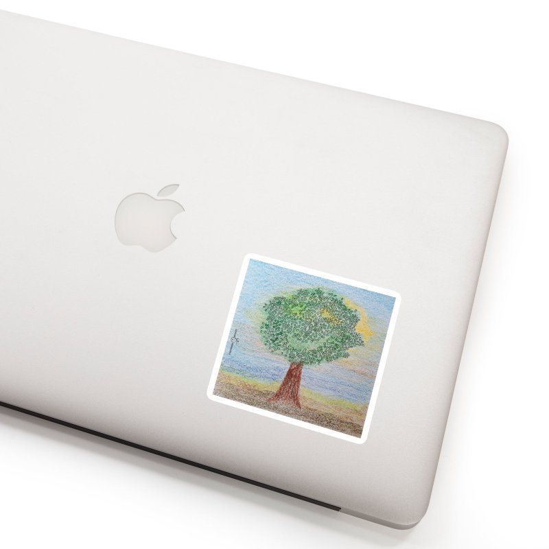 Tree Smile Accessories Sticker by Good Morning Smile