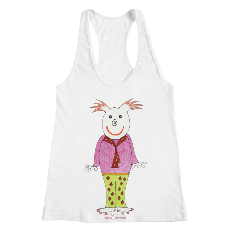 Pleased Smile Women's Racerback Tank by Good Morning Smile