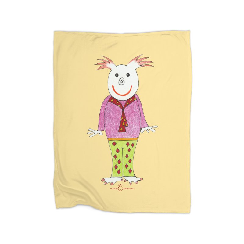 Pleased Smile Home Blanket by Good Morning Smile