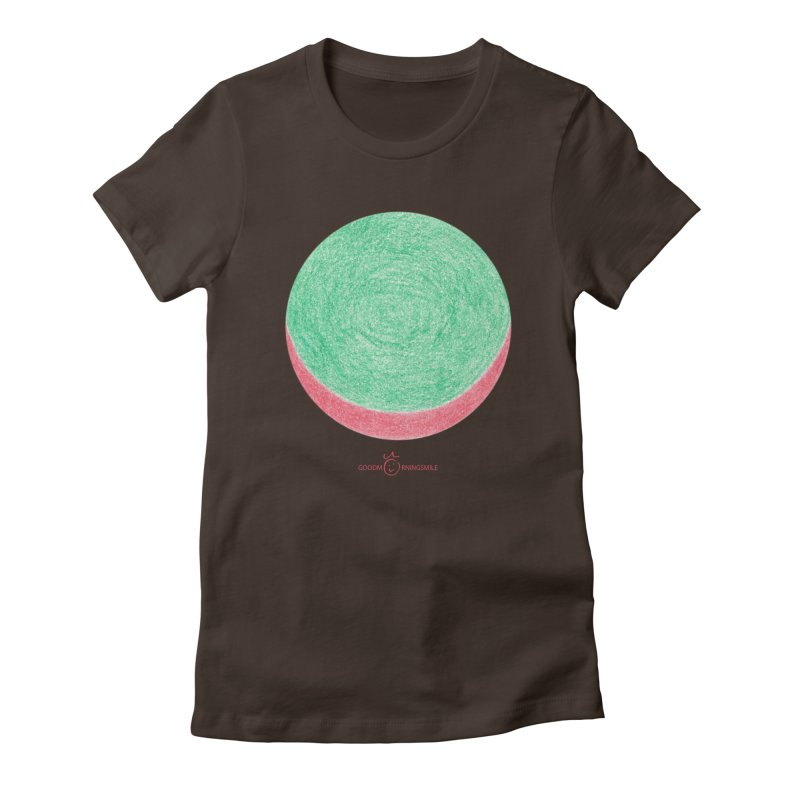 Watermelon Smile Women's Fitted T-Shirt by Good Morning Smile
