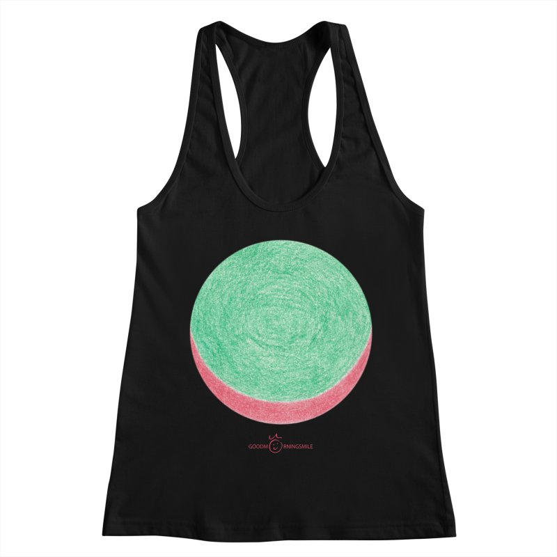 Watermelon Smile Women's Racerback Tank by Good Morning Smile