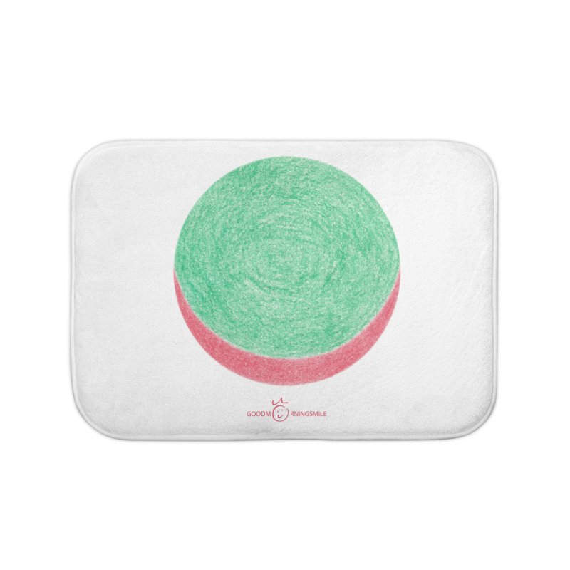 Watermelon Smile Home Bath Mat by Good Morning Smile