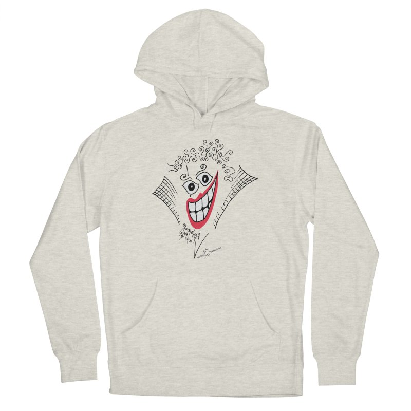 Sly smile Men's Pullover Hoody by Good Morning Smile