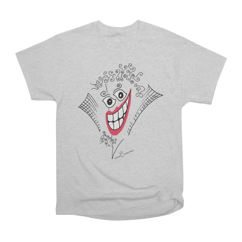 Sly smile Women's Heavyweight Unisex T-Shirt by Good Morning Smile