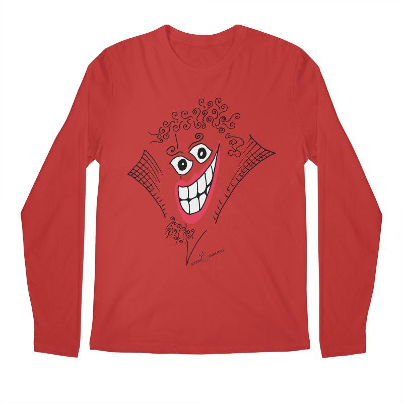 Sly smile Men's Regular Longsleeve T-Shirt by Good Morning Smile