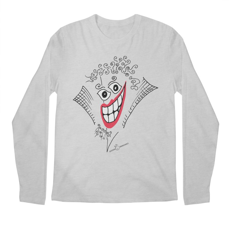 Sly smile Men's Regular Longsleeve T-Shirt by Good Morning Smile