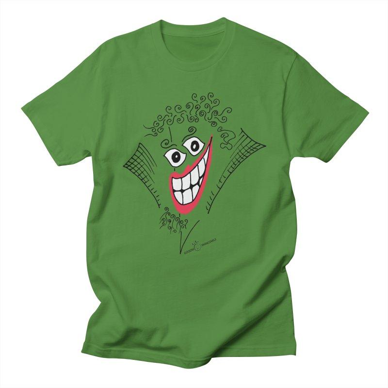 Sly smile Men's Regular T-Shirt by Good Morning Smile