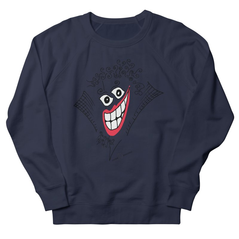 Sly smile Women's French Terry Sweatshirt by Good Morning Smile