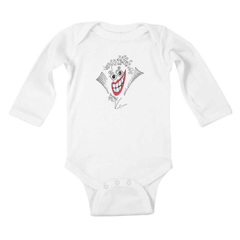 Sly smile Kids Baby Longsleeve Bodysuit by Good Morning Smile