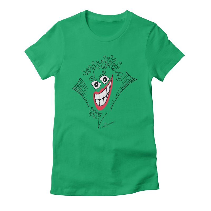 Sly smile Women's T-Shirt by Good Morning Smile