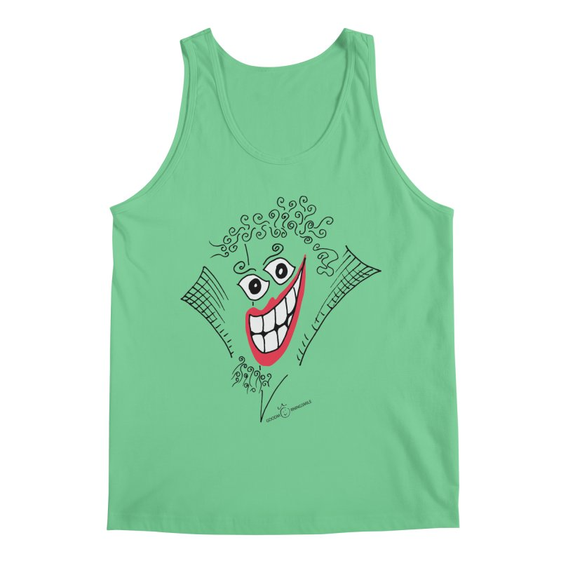 Sly smile Men's Regular Tank by Good Morning Smile