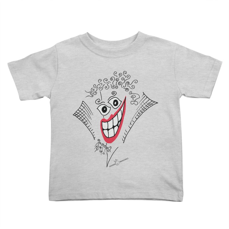 Sly smile Kids Toddler T-Shirt by Good Morning Smile