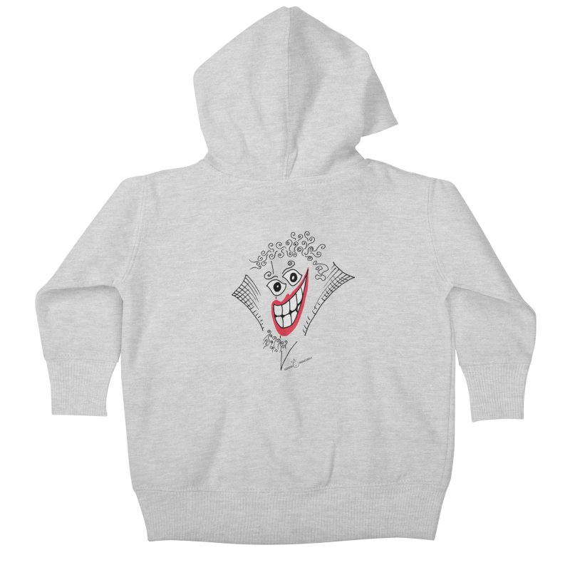 Sly smile Kids Baby Zip-Up Hoody by Good Morning Smile