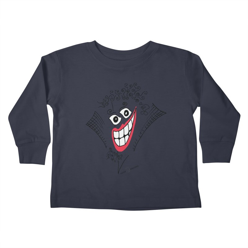 Sly smile Kids Toddler Longsleeve T-Shirt by Good Morning Smile