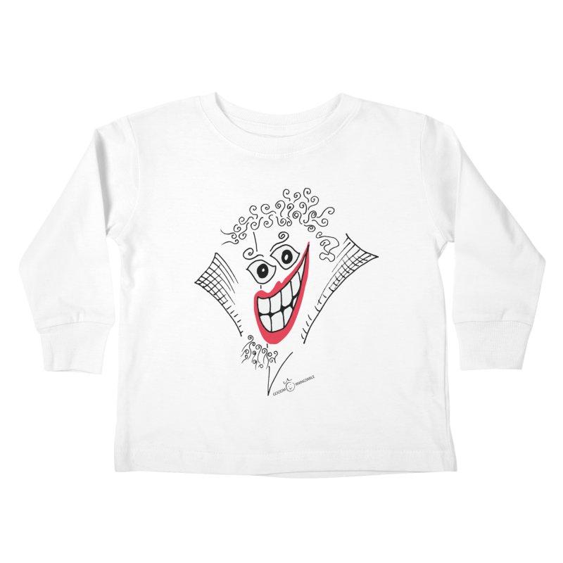 Sly smile Kids Toddler Longsleeve T-Shirt by Good Morning Smile