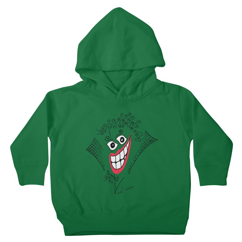 Sly smile Kids Toddler Pullover Hoody by Good Morning Smile