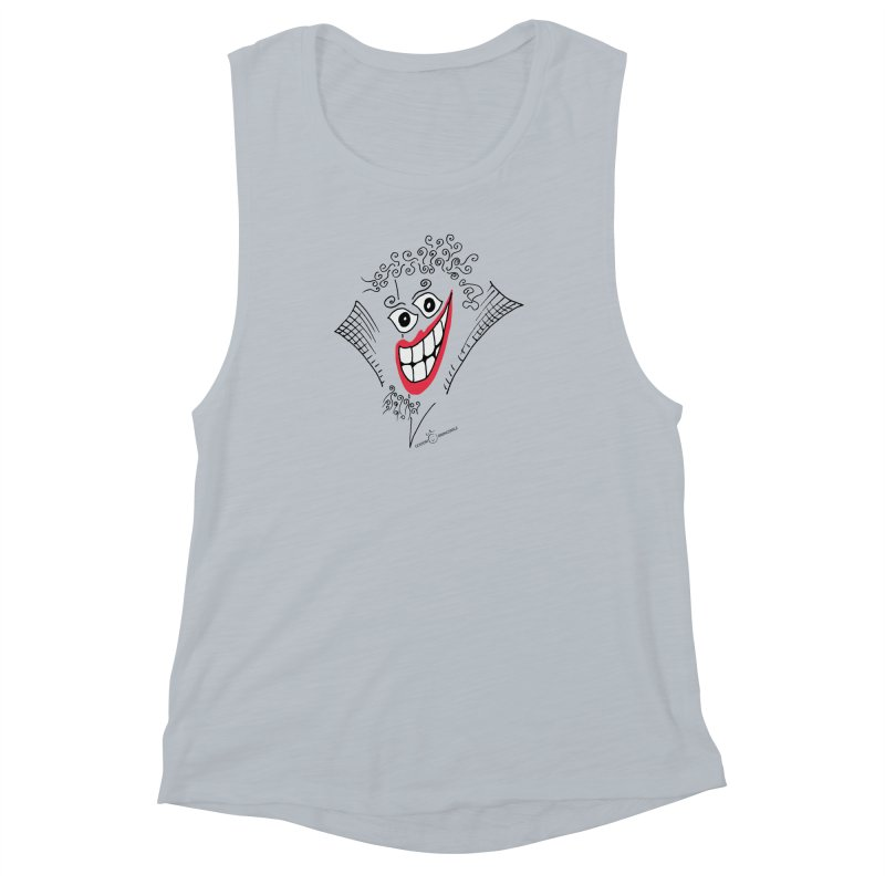 Sly smile Women's Muscle Tank by Good Morning Smile