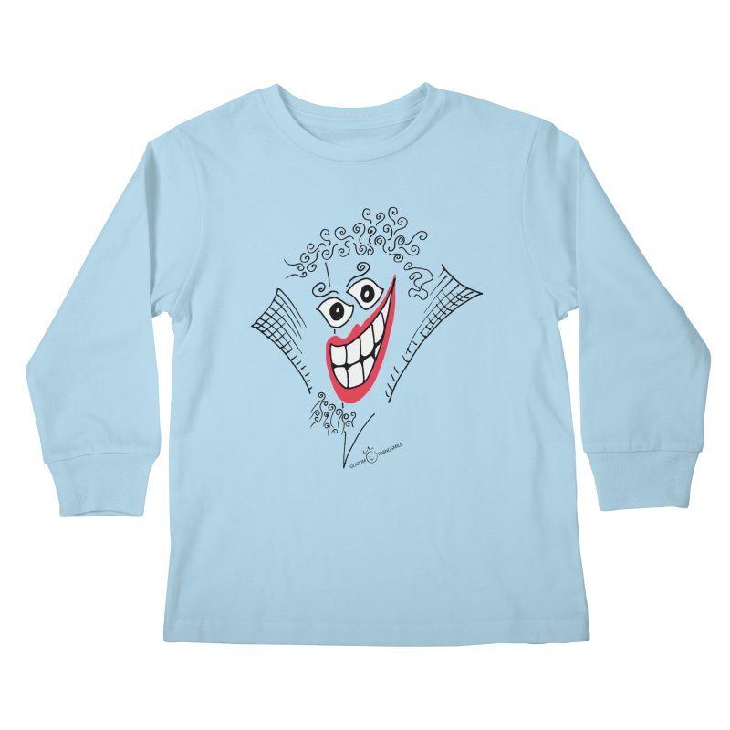 Sly smile Kids Longsleeve T-Shirt by Good Morning Smile
