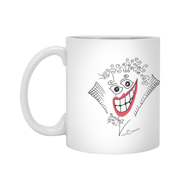 Sly smile Accessories Mug by Good Morning Smile