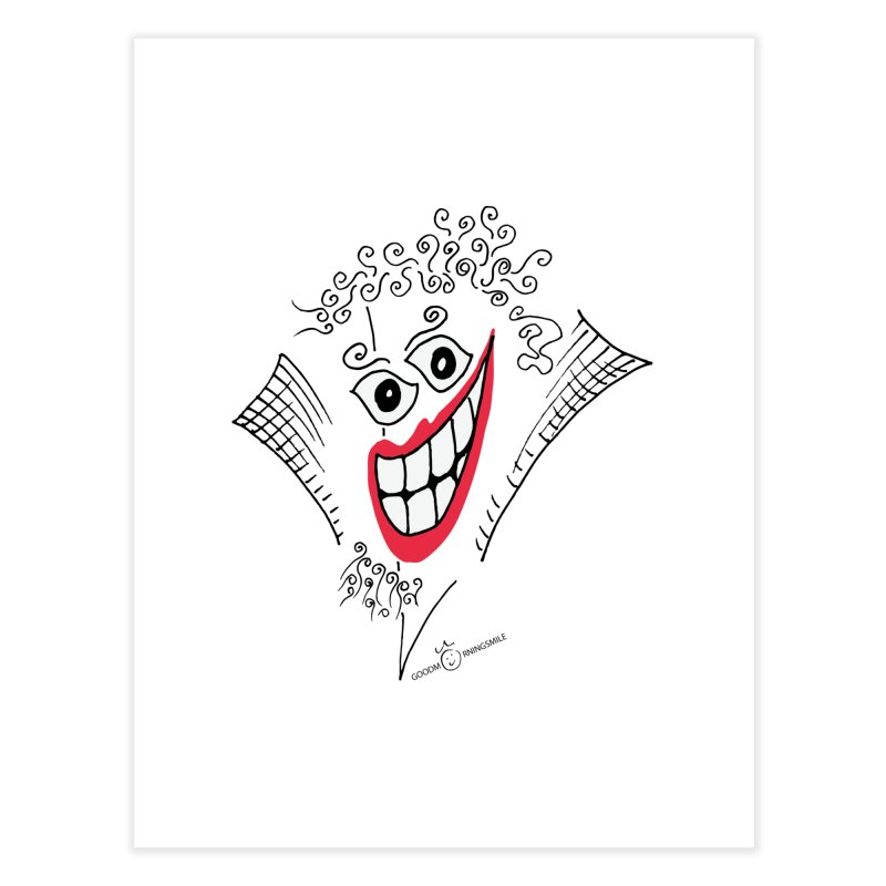 Sly smile Home Fine Art Print by Good Morning Smile