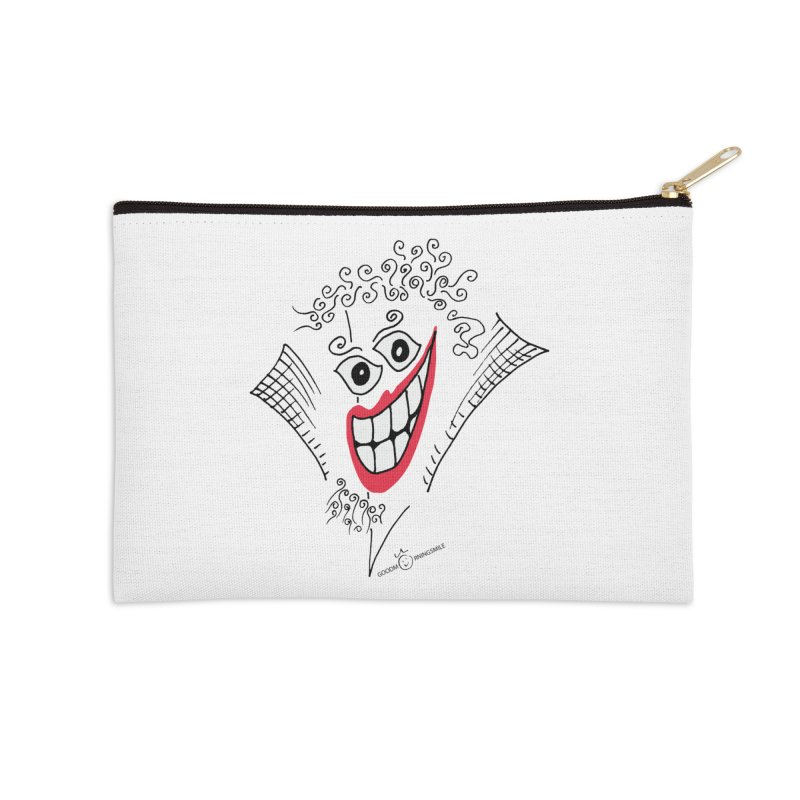 Sly smile Accessories Zip Pouch by Good Morning Smile