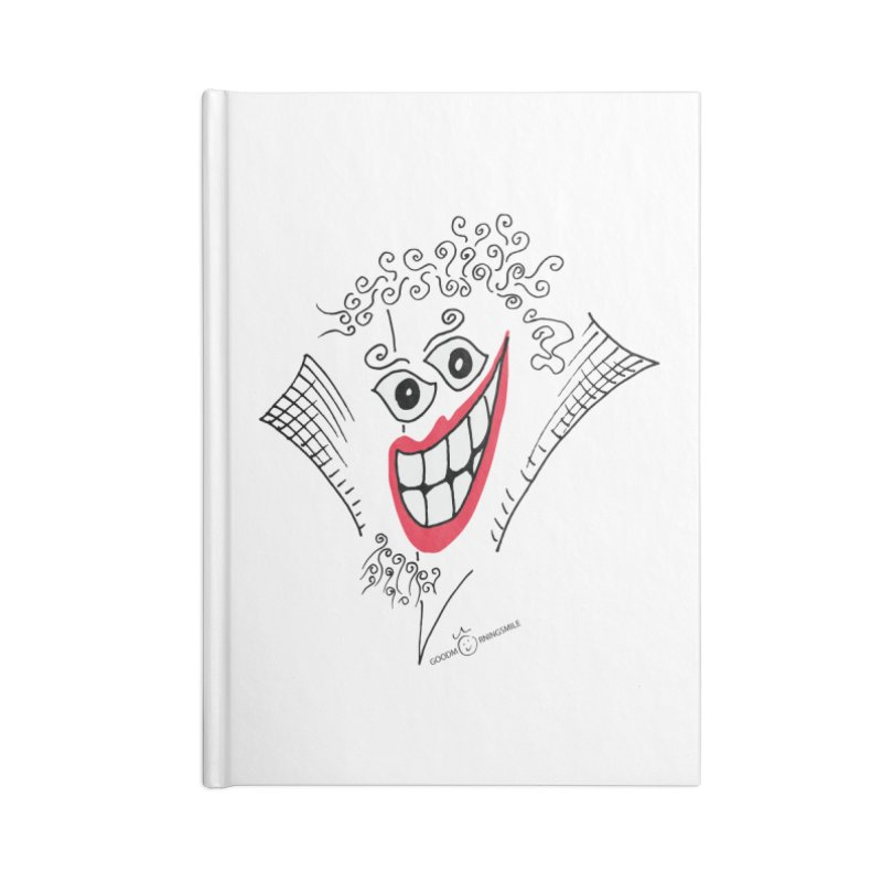 Sly smile Accessories Blank Journal Notebook by Good Morning Smile