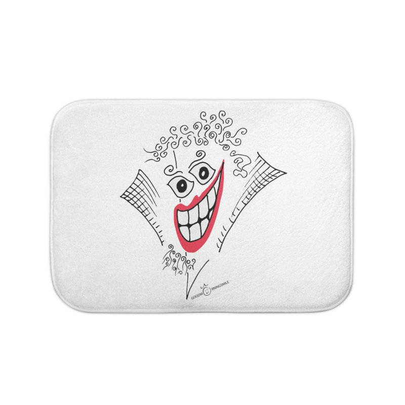 Sly smile Home Bath Mat by Good Morning Smile
