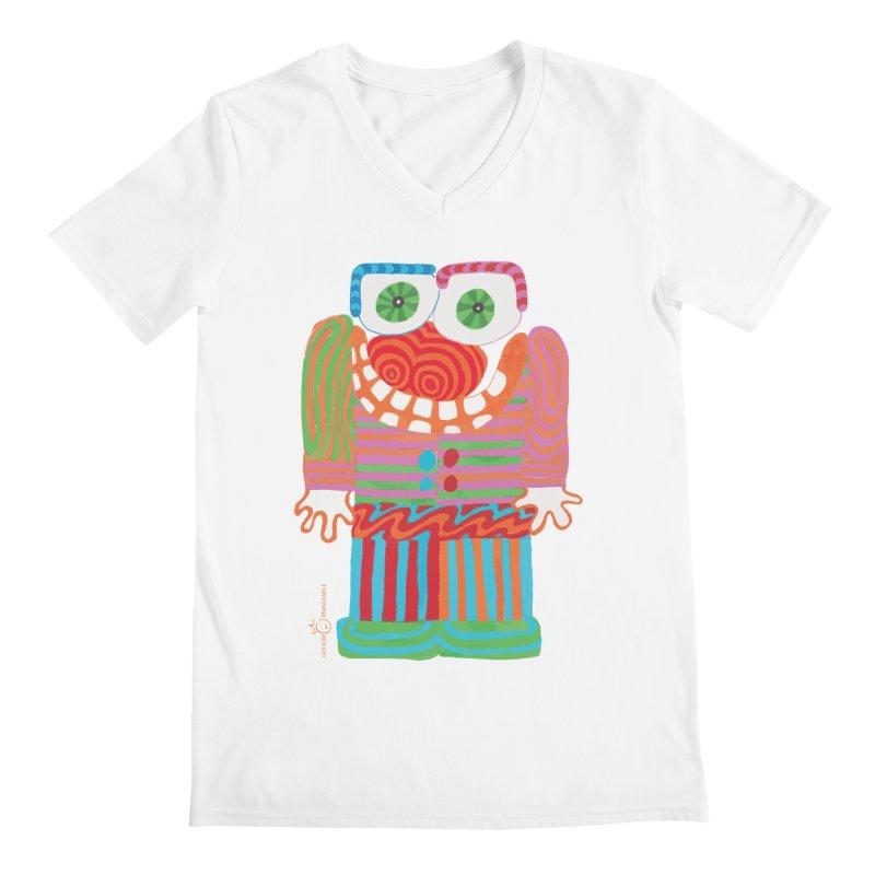 Goofy Smile Men's V-Neck by Good Morning Smile