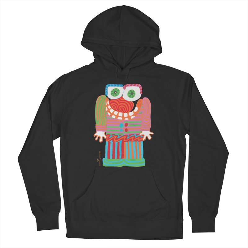 Goofy Smile Men's French Terry Pullover Hoody by Good Morning Smile