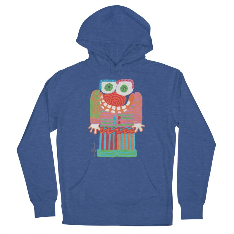 Goofy Smile Women's French Terry Pullover Hoody by Good Morning Smile