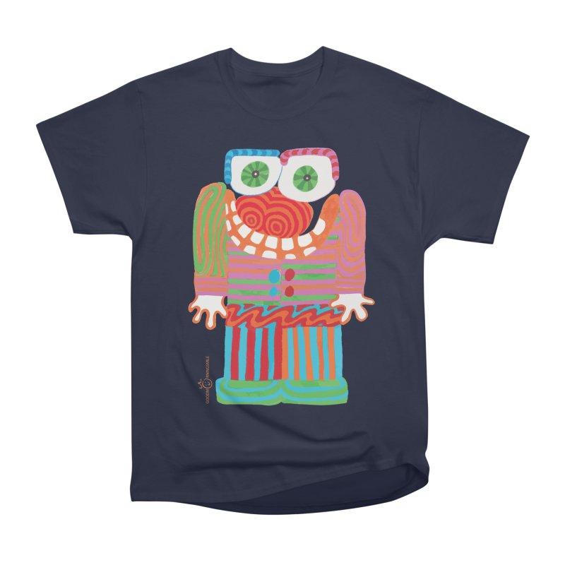 Goofy Smile Women's Heavyweight Unisex T-Shirt by Good Morning Smile